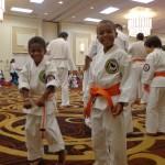 Renshi McCammon's son and nephew.  The next generation of Shorin-Ryu Karate