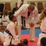 Grappling training with Shiroma Sensei
