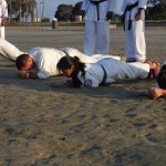 Memories and metal are forged in traditional Karate