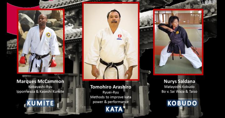Okinawa Association of America, Martial Arts Committee - Master's Seminar Featuring Tomohiro Arashiro